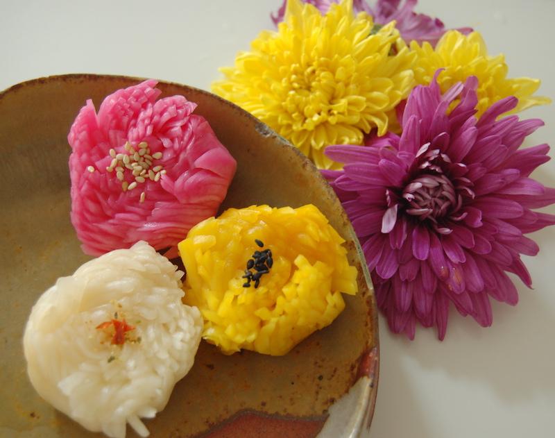 3-Colored Turnip Flowers