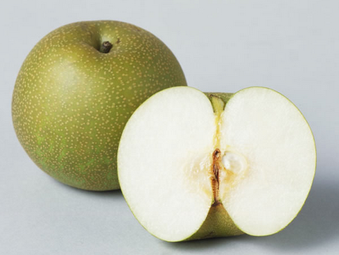 Asian Pears with Ginger-Infused Miso