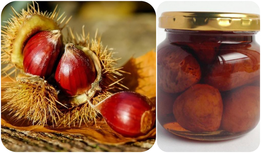 Sugar-Stewed Chestnuts